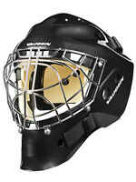 New Vaughn 7700 Cat Eye goal helmet black senior large Sr ice hockey goalie mask