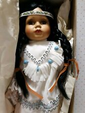 "The Broadway Collection Female Native American Doll. "" I Love you "" Nib*"