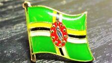 DOMINICA Metal Flag Lapel Pin Badge *NEW*