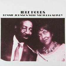 Idle Hours by Lonnie Johnson and Victoria Spivey - EUC Music CD Blues
