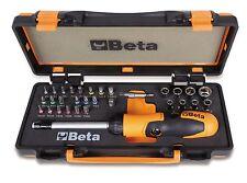 Beta Portainserti cricchetto snodabile 27 inserti 8 bussole 2 accessori 860/C38P
