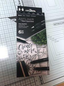 Spectrum Noir  Art Liner Black fine liner pens