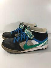 Mens Nike Air 6.0 High Tops Skater Black Green Grey White UK 11 318466-034