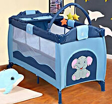 Baby Cribs Bassinet Portable Infant Bed Toddler Pack n Play Cot PlayPen Crib New