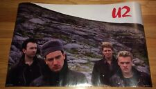 "U2 Poster Vintage 1985 Funky 3022 Original 22"" x 34"" Anton Corbijn"