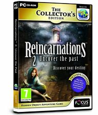 Reincarnations 2: Uncover the Past - Collector's Edition (PC CD) NEW SEALED