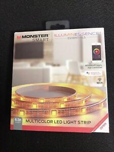 Sealed Monster Smart LED Light Strip Illuminessence 6.5 ft Multi-Color