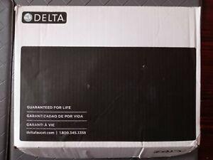 Delta Dryden 3551LF-SP Spotshield Stainless Widespread Bathroom Faucet