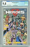 Superman Heroes #1 CGC 9.8 1st First Print Edition Hitch Cover Bendis Story
