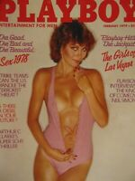 Playboy February 1979 | Girls of Vegas Lee Ann Michelle Alexis Vogel  #1470+