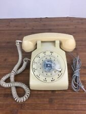 Vintage Rotary Dial  Desk Table Telephone - beige