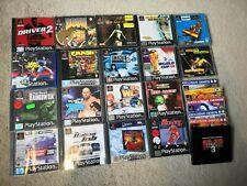 PS1 Games joblot - 18 games inc. Crash Bandicoot, Zero Divide 2, + demo discs