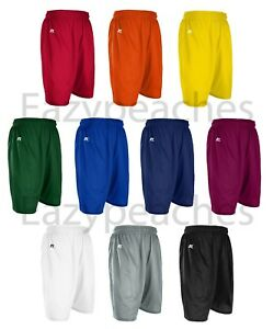 Russell Athletic - Men's S-XL 2X 3XL Mesh Shorts Gym, Ruby, Soccer, Basketball