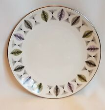"""Ridgway Green and Grey White Mist """"Fanfare"""" Side/Salad Plate1960's Vintage"""