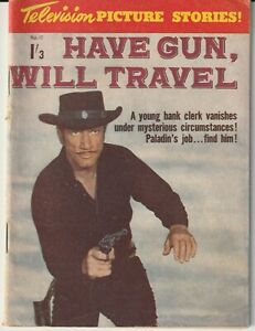 Australian Western Comic: Have Gun, Will Travel #17 JRP 1962