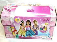 Disney Princess - 27 Piece Dress Up Trunk & Accessories - Ariel Rapunzel & Belle