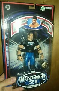 wwe action figure Eddie Guerrero ruthless aggression wrestlemania 21