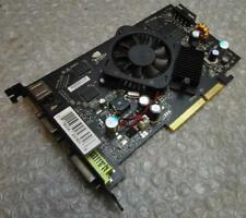 256mb Nvidia PV-T73D-UAL3 RVA Geforce 7300GT VGA / DVI PCIe Graphics Card