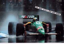 9x6 Photograph , Allesandro Nannini  Benetton B189   Australian GP Adelaide 1989