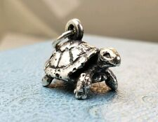 James Avery Retired 3D Turtle Tortoise Charm Uncut NEW