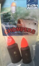 NISA Chomper Floating Feeders Small. Free P&P