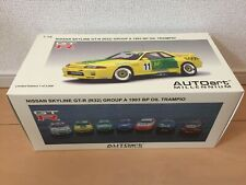 RARE AUTOart 1/18 scale Nissan Skyline GT-R R32 BP OIL TRAMPIO LIMITED EDITION