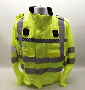 Genuine Ex Police Hi Vis Lightweight Bomber Jacket Model 153 Security Patrol