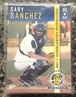 2011 Charleston Riverdogs 36 Card Minor League Set Gary Sanchez Yankees 1st Card