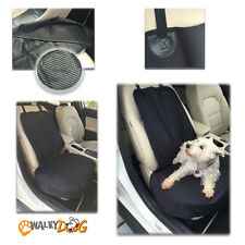 Walky Dog Seat Covers for Cars, Trucks and Suvs Front Seat Black