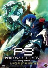 DVD Persona 3 The Movie : Spring of Birth + Bonus Anime