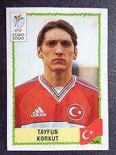 ☆ Panini Euro 2000 - Turkey / Türkiye Tayfun Korkut  #156