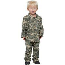 Toddler Little Soldier Army Costume