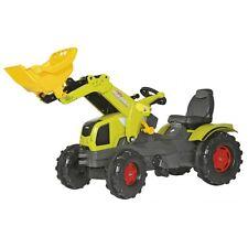 Rolly Toys Claas Axos 340 mit Frontlader und Motorhaube zum Öffnen Traktor Tre