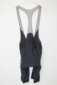 Specialized SL Cycling Bib Shorts Cycle Bike Padded Black Grey Adult Mens Size M