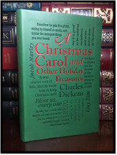 A Christmas Carol by Charles Dickens New Textured Soft Leather Feel Collectible