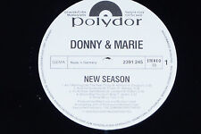 DONNY & MARIE -New Season- LP 1976 Polydor Promo Archiv-Copy mint