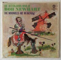 BOB NEWHART ~ THE WINDMILLS ARE WEAKENING ~ 1965 UK 7-TRACK MONO VINYL LP RECORD