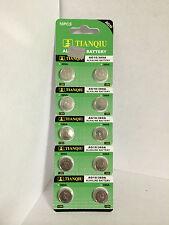 10Pk AG10 LR1130 389 390 189 L1131 LR54 D389  2020 Alkaline Button Cell Battery