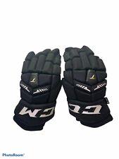 New listing Ccm Tacks 6052 Hockey Gloves 15� Pro Black & White B4