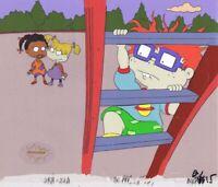 RRUGRATS Original Production Cel Cell Animation Art Nickelodeon 1990s Suzi Slide