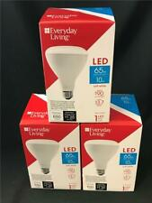 * 3 Everyday Living LED Bulb 65W Replacement 10W Soft White 650 Lumens BR30
