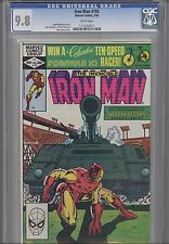 Iron Man 155 CGC 9.8 1982 Marvel Featuring Back Getters :Price Drop!