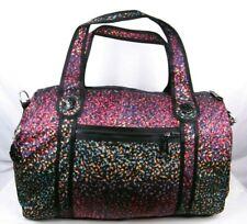 """KIPLING Large 20"""" Duffle Travel Gym Bag Tote Weekender Bag Vipin Multicolor Bird"""