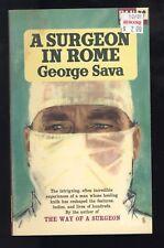 2 George Sava PB A Surgeon In Rome Surgeon In California UK Pan 1st 1964-1965 VG