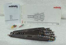 Marklin 2270 K Rail Symmetrische driewegwissel met 2 aandrijvingen. Nieuw