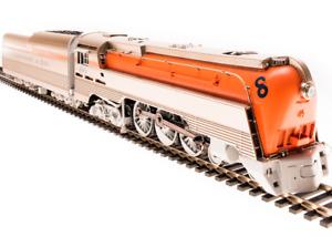 BLI 4555 Brass Hybrid C&O L-1 4-6-4 Original Orange  #291 w/DCC/Sound/Smoke NIB