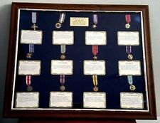 Military Service Medals Collection 36 medals Diplomat Colonel USAFR, Norton AFB