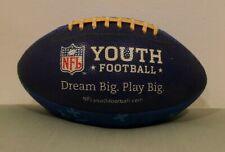Nfl Logo Blue Youth Dream Big. Play Big. Football by Wilson