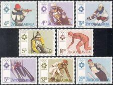 Yugoslavia 1984 Winter Olympic Games/Sports/Ice Hockey/Shooting 8v set (n21706c)