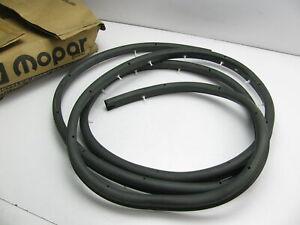 NEW - OEM For Mopar Front Left Door Weatherstrip Seal 1991-93 B150 B250 B350 Van